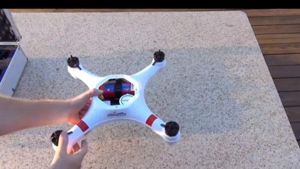 splash drone