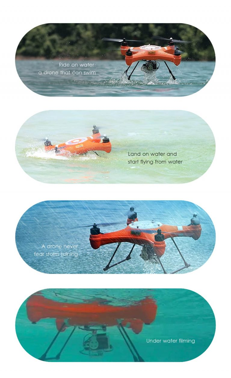 SwellPro Waterproof Drones