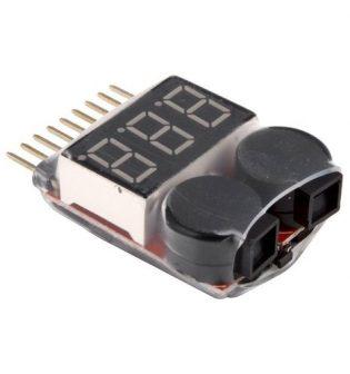 LIHV/LiPo Battery Voltage Analyzer